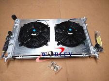 Aluminum Radiator+SHROUD+FAN For Ford BA BF Falcon V8 Fairmont XR8 XR6 TURBO