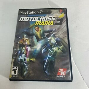 Motocross Mania 3 Sony PlayStation 2 Game 2005 PS2 FREE SHIP Complete CIB