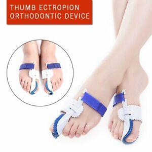2X Big Toe Bunion Hallux Valgus Straighteners Night Splint Corrector Pain Relief