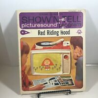 VINTAGE 1964 RED RIDING HOOD - GENERAL ELECTRIC SHOW'N TELL PICTURESOUND