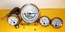 Tachometer + Gauge Set fits JOHN DEERE TRACTOR 50,60 - WHITE FACE