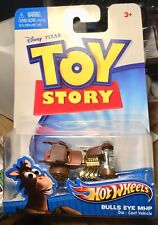 Hot Wheels Character Cars 2010 Series: Toy Story - Bulls Eye MHP - rare!