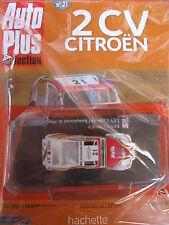 AUTO PLUS Auto Bild COLLECTION No.27  Eligor Citroen 2CV Cross De Championnat
