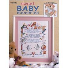 Cross Stitch Chart/Pattern - Sweet Baby Memories 8 Designs