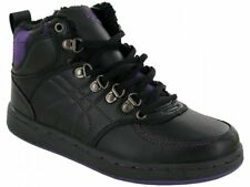 LADIES/WOMEN FUR IN LINED ANKLE BOOTS/TRAINERS UK SIZE 3 4 5 6 7 8
