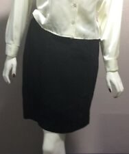 Fox run Leather Skirt Black Color Size 11 NEW WITHOUT TAGS NWT