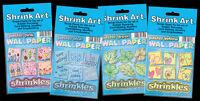 SHRINKLES SHRINKIE SHRINK PLASTIC ART CRAFT COLOUR EMBELLISHMENTS JEWELLERY