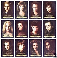 TWILIGHT NEW MOON  PROTRAITS FOIL 13 CARD SET + TITLE CARD   SOLD OUT  RARE