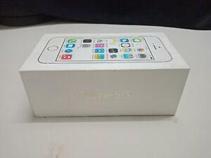 Empty iPhone 5S Gold Box