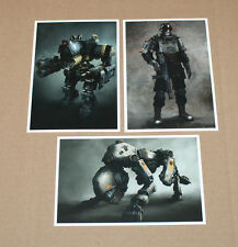 Wolfenstein The New Order Postcard Post Card Set PS3 PS4 Xbox One 360 New Sealed