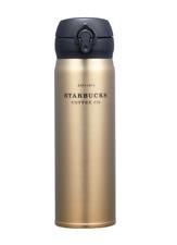 Starbucks Korea JNL Gold Heritage Thermos 500ml (17oz) + Free Gift