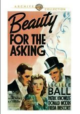 Beauty for the Asking 1939 (DVD) Lucille Ball, Patric Knowles, Donald Woods New!
