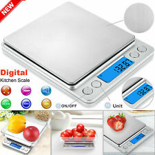 Digital Electronic Kitchen Scale Pocket Food Mini Weight LCD 0.01g-500g Weighing