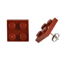 LEGO® 2x2 Square Ear Stud Earrings Novelty Cool Gift Idea