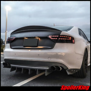 380K Rear trunk duckbill spoiler (Fits: Audi A5 / S5 2007-16 2dr coupe)