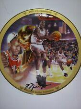Michael Jordan '91 Championship Collector Plate - The Bradford Exchange