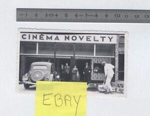 (AP/A29) Photo Cinéma Novelty Evreux + Citroën Traction Avant 1941