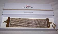 Guerlain Goldtone Mesh Bracelet Boxed