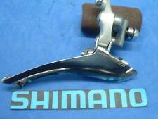 Shimano 600 Ultegra FD-6401 Road Front Derailleur Vintage-7/8-Spd Brz-On VG++