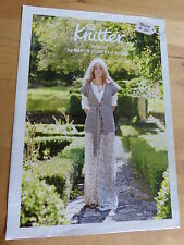 "Knitting Pattern for Woman's Cabled Long Waistcoat, Martin Storey, 32-50"" Bust"