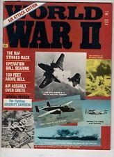 World War 2 Magazine July 1973 Bombing Of Ho Frung Bridge Aircraft Carriers