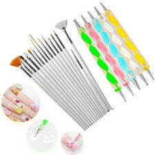 Mandala Dotting Tools Rock Painting Kits Art Pen Paint Stencil Brush UK