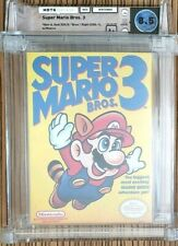 Super Mario Bros 3 Brothers Nintendo Nes Neuf Scellé près de comme Wata 8.5 A+