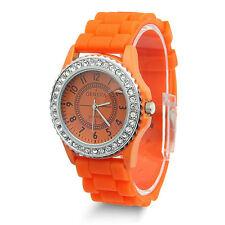 Geneva Silicone/Rubber Wristwatches