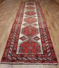 Persian Traditional Vintage Wool 425cm X 97cm Oriental Rug Handmade Carpet Rugs