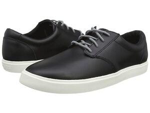 Crocs CitiLane Leather Lace Up Black/White