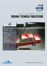 VOLVO 740, 760, 780 Modèles - 1982 To 1992 Publications Techniques-USB Portable