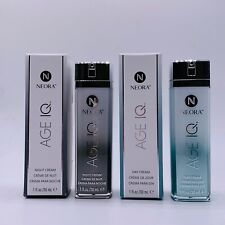 Neora Age IQ Day & Night Cream Set Powerful Exclusive Anti-aging Clinical Proven