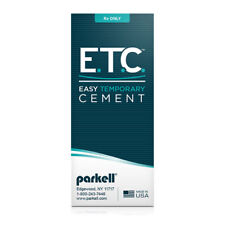 ETC Easy Temporary Cement DUAL-CURE 5mL Cartridge 10 Mixing Tips Parkell