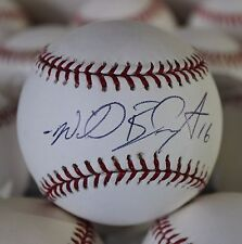 Willie Bloomquist Single Signed Baseball  Autographed Ball Seattle Mariners