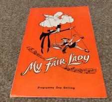 Very Rare 'MY FAIR LADY'  UK Musical 1960's program