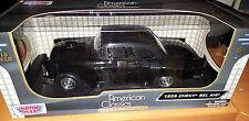 1955 Chevrolet Bel Air Custom Black Hard Top 1:18 Scale