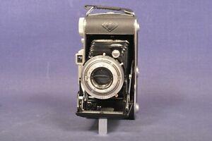 Agfa Billy Record II mit Agfa Apotar 1: 4,5 /1 05 mm / Mittelformat Klappkamera