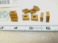 (Ten ) square cutting inserts carbide $230 Msrp Tk1000