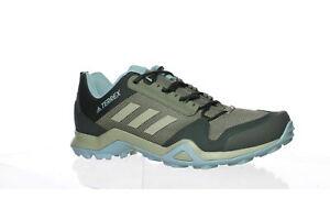 Adidas Womens Terrex Ax3 Green Hiking Shoes Size 12 (1597545)