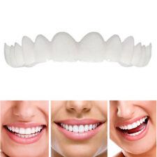 Smile Upper Tooth Secure Cosmetic Veneers Dentistry Snap On Comfort Covers NEW