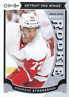 15/16 O-PEE-CHEE OPC UPDATE ROOKIE RC #U37 ANDREAS ATHANASIOU RED WINGS *15053