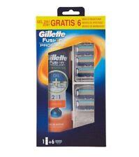 Kit GILLETTE FUSION PROGLIDE Gel da Barba 170ml + 6 lame di ricambio per rasoio