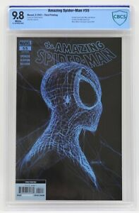 Amazing Spider-Man (2018) #55 Third Printing CBCS 9.8 Blue Label White Pages