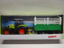 Herpa 84184013 CLAAS ARION 540 Traktor mit Viehanhänger Trecker 1:32 Neu