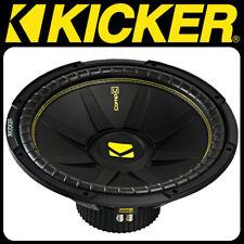"KICKER CompC Woofer CompC154 - 38cm 2 x 4 Ohm Bass (15"") Subwoofer Box Free Air"
