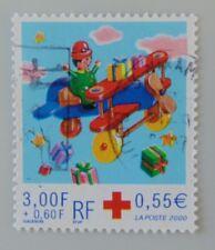 France année 2000 Yvert 3362 oblitéré cachet rond croix rouge