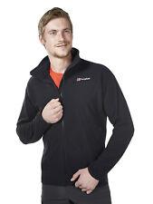 Men's Berghaus Spectrum Micro Fleece Jacket Coat Tracksuit Sweatshirt Black 2xl