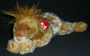 TY CLASSIC PLUSH - KINGLY the LION – MINT with MINT TAGS