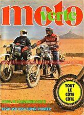 MOTO VERTE  35 OSSA 350 Super Pioneer Rallye Côte d'Ivoire d'Azur Touquet 1977