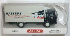 Wiking 042501 Magirus 100 D Koffer-LKW 1966 - 1968 Bastert 1:87 Spur HO